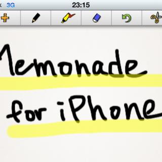 iPad版好評に付きiPhone版もついにリリース!Memonade for iPhoneをリリースしました