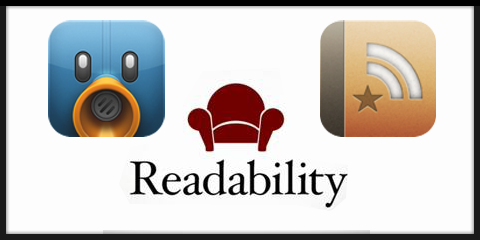 TweetbotからReadbilityに送ってReederで読むのが快適すぎた