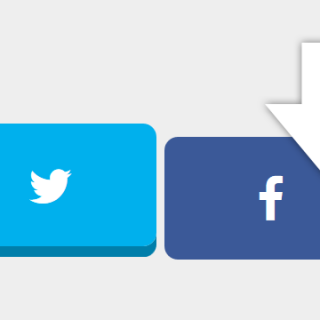 CSSでボタンを押したときに沈むようなデザインにする方法