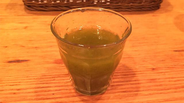 山本のハンバーグ 渋谷食堂の野菜ジュース