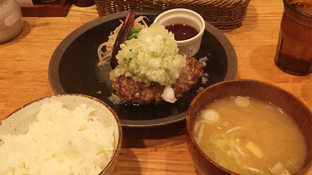 山本のハンバーグ 渋谷食堂の定食