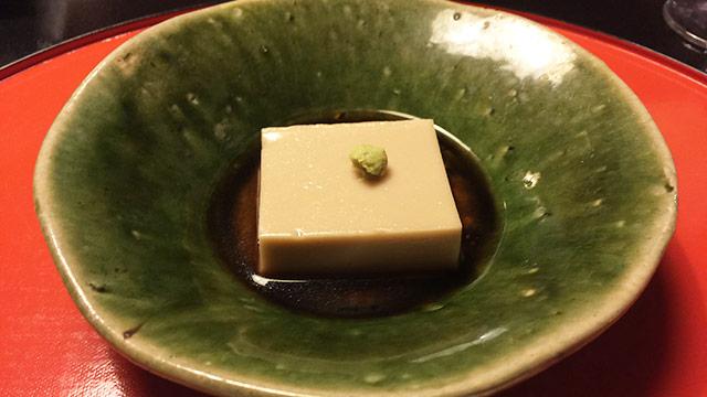 とうふ屋うかいの祝い膳 ゴマ豆腐