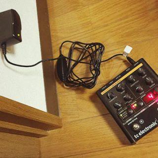 TC ElectronicのNova DriveなどのNovaシリーズでは9Vのアダプタが使える!