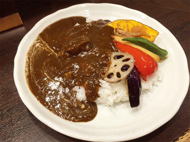 武蔵小山B&Rのこだわり野菜カレー