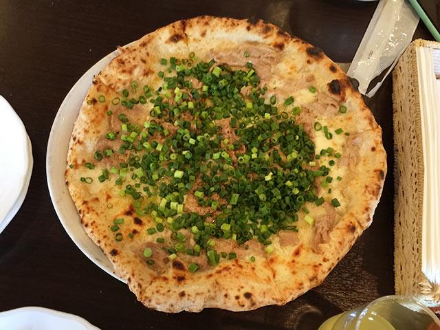 Pizzeria la Rossaのジャポネーゼ