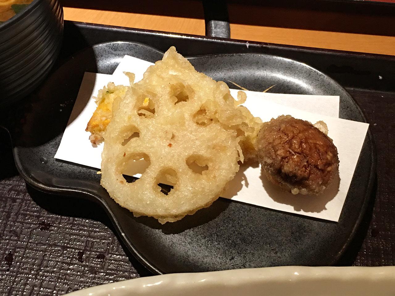 青葉台「ひいらぎ」の天ぷら