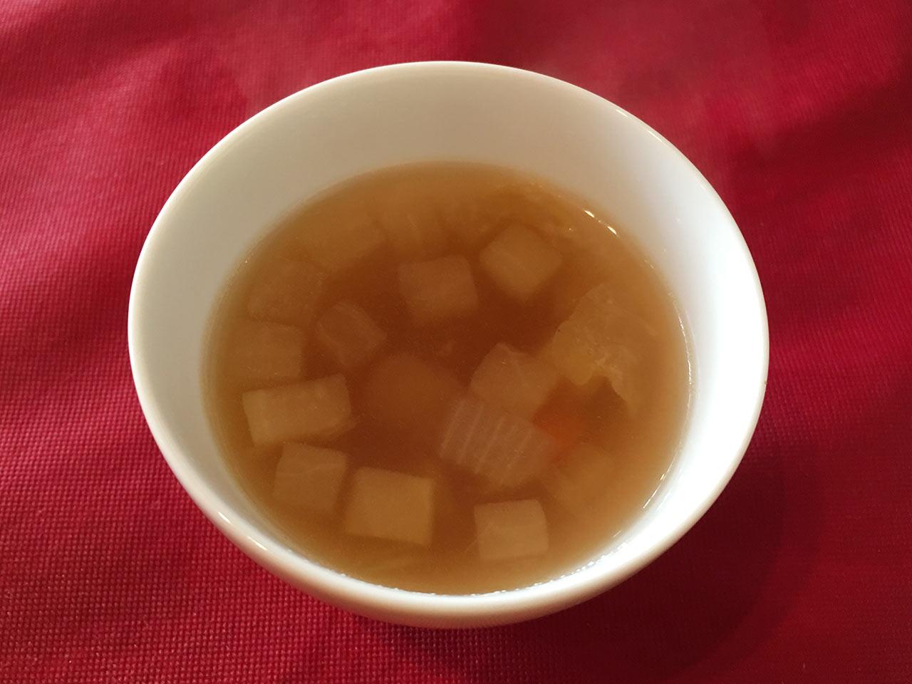 武蔵小山レトロワのランチスープ
