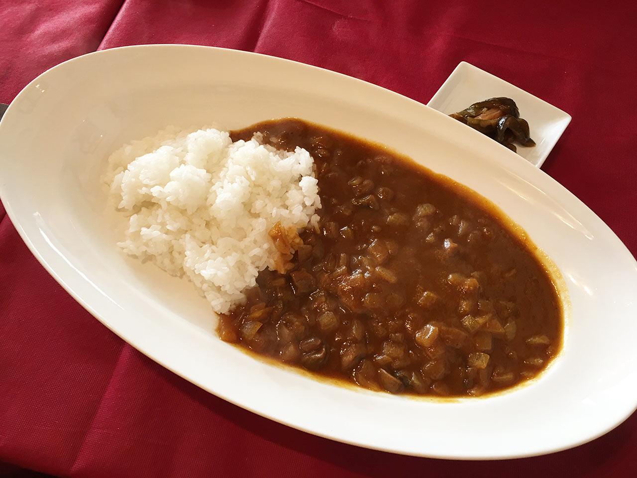 武蔵小山レトロワの黒毛和牛ほほ肉煮込みカレー