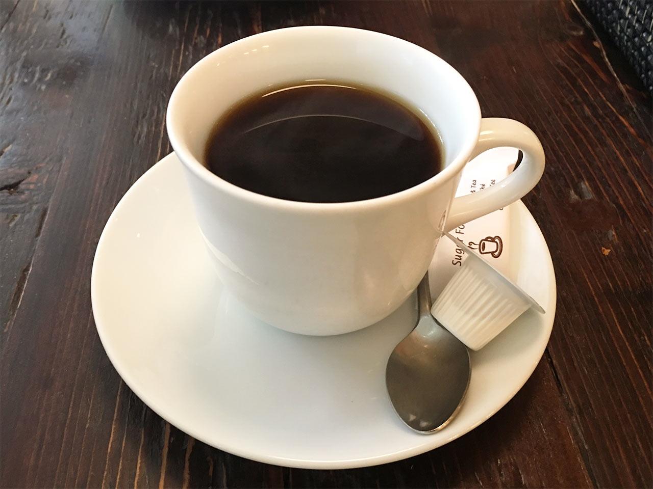 武蔵小山のパン屋nemoのコーヒー