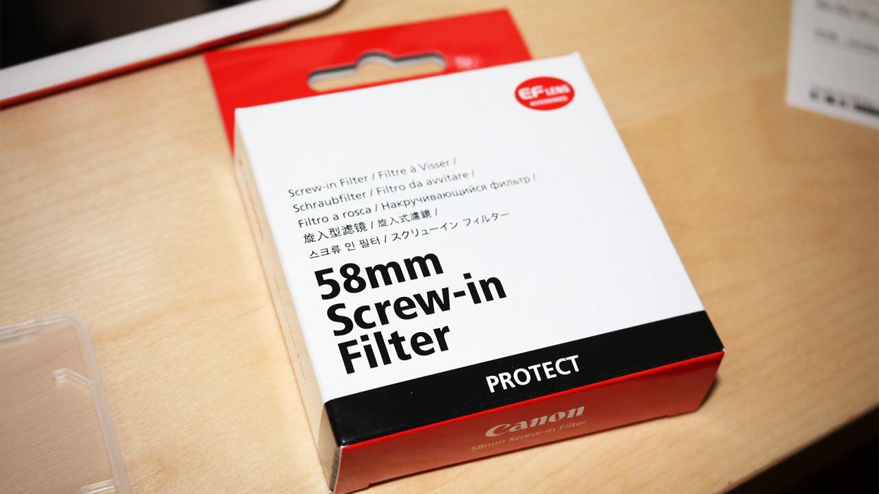カメラのレンズを保護するフィルターはつけておいた方がいいと思う