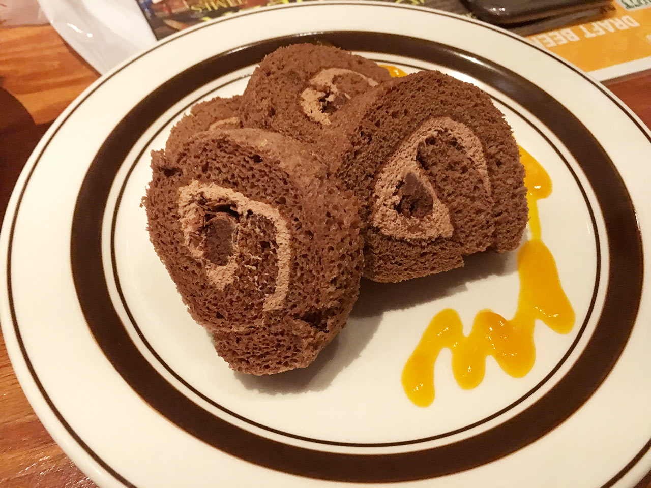 ブルックリンダイナー中目黒店のロールケーキ