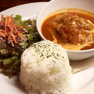 武蔵小山のハイマットカフェでチキンカレー食べた