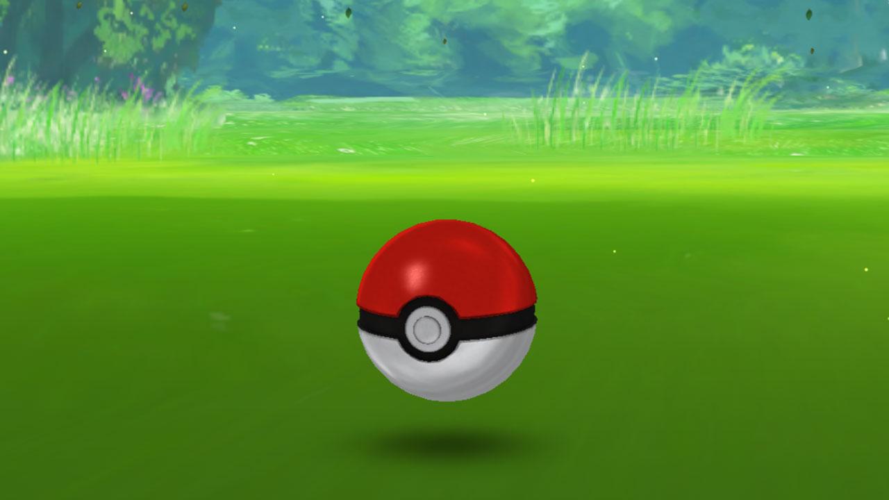 ポケモンGOでポケモンに当てやすくなる画面左端に押し付けながら投げる方法とカーブボール