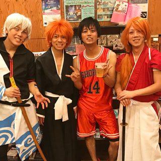 2016年10月31日@西川口Heartsにアマオトで出演!ぱぴお休み&仮装でのライブでした!