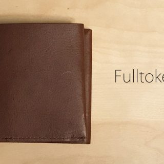 「Fulltokeydell」という鍵をしまえる財布が便利!薄いのにカードもお金も結構入ります!