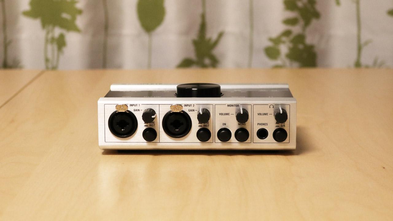 バンドで同期もの使うならオーディオインターフェースはKOMPLETE AUDIO 6使うのが良さそう!