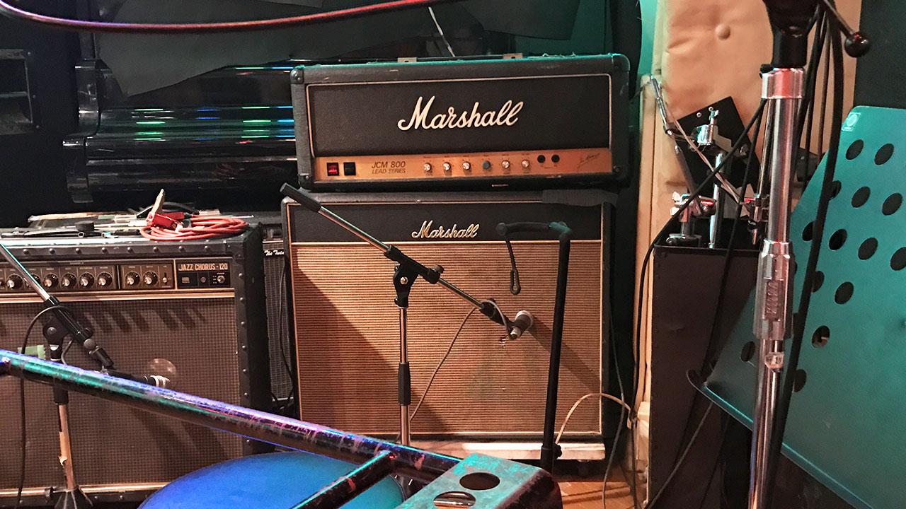 学芸大学メイプルハウスのギターアンプ