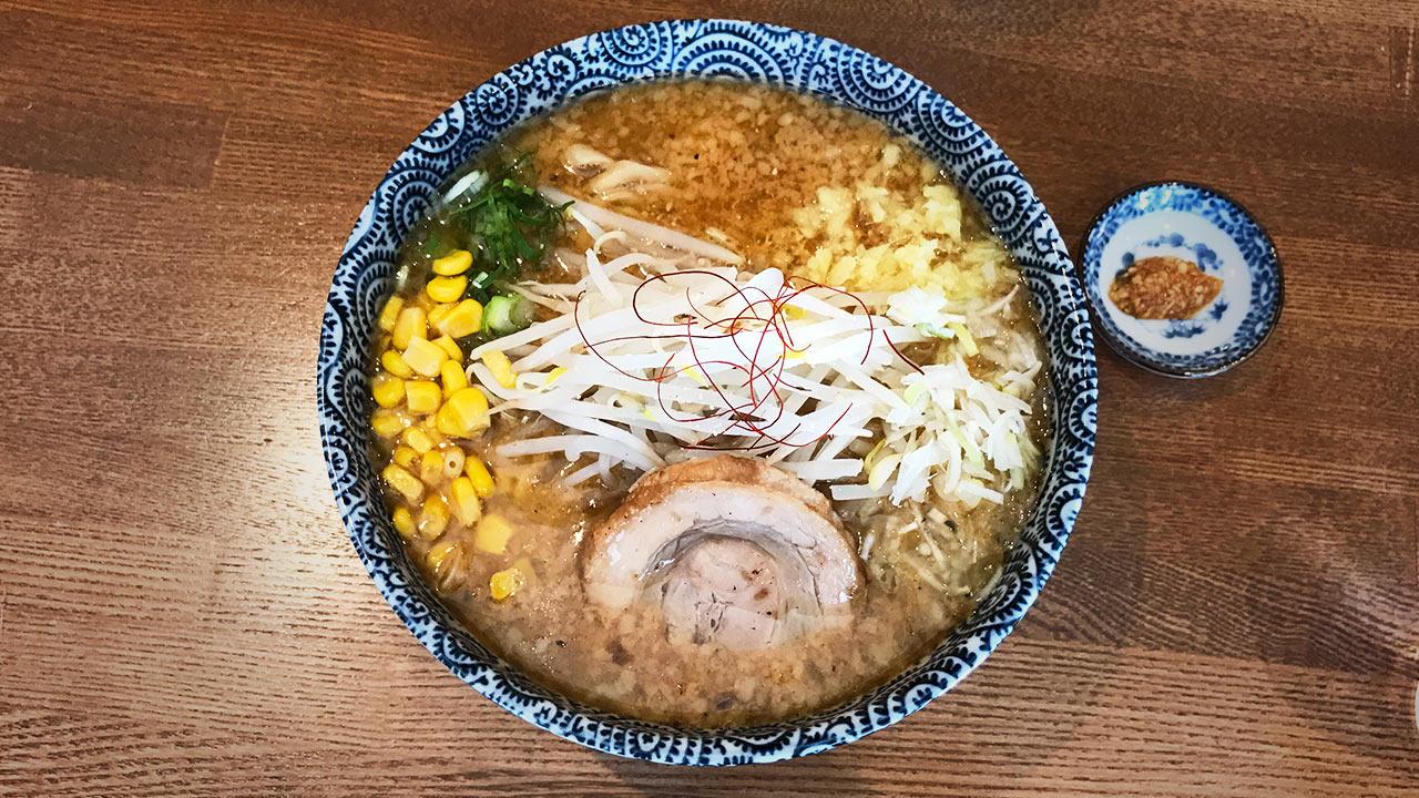武蔵小山のラーメン屋「爆龍(ハゼリュウ)」の焙煎味噌そばがうまかった!