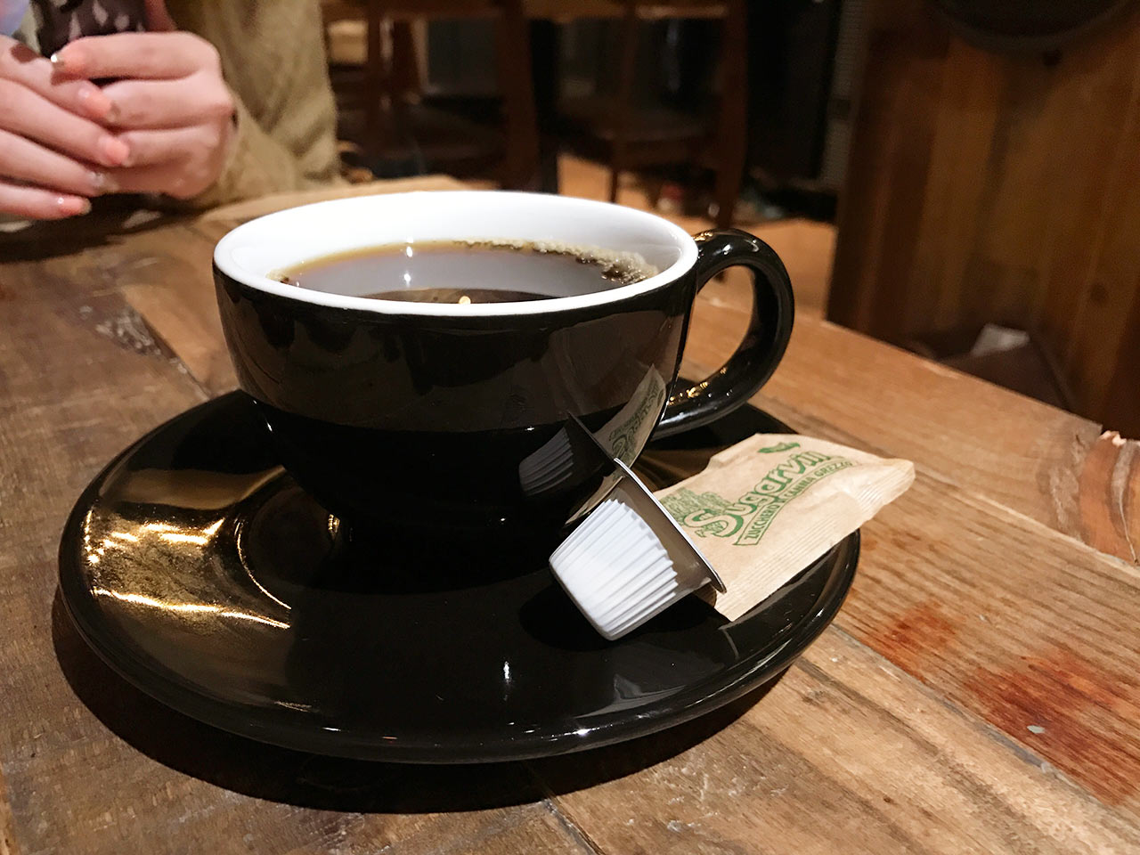渋谷ESPRESSO D WORKSのブリュワーコーヒー