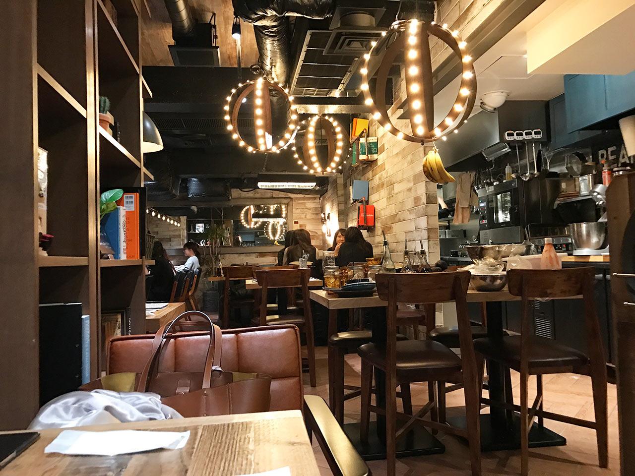 渋谷ESPRESSO D WORKSの店内奥側