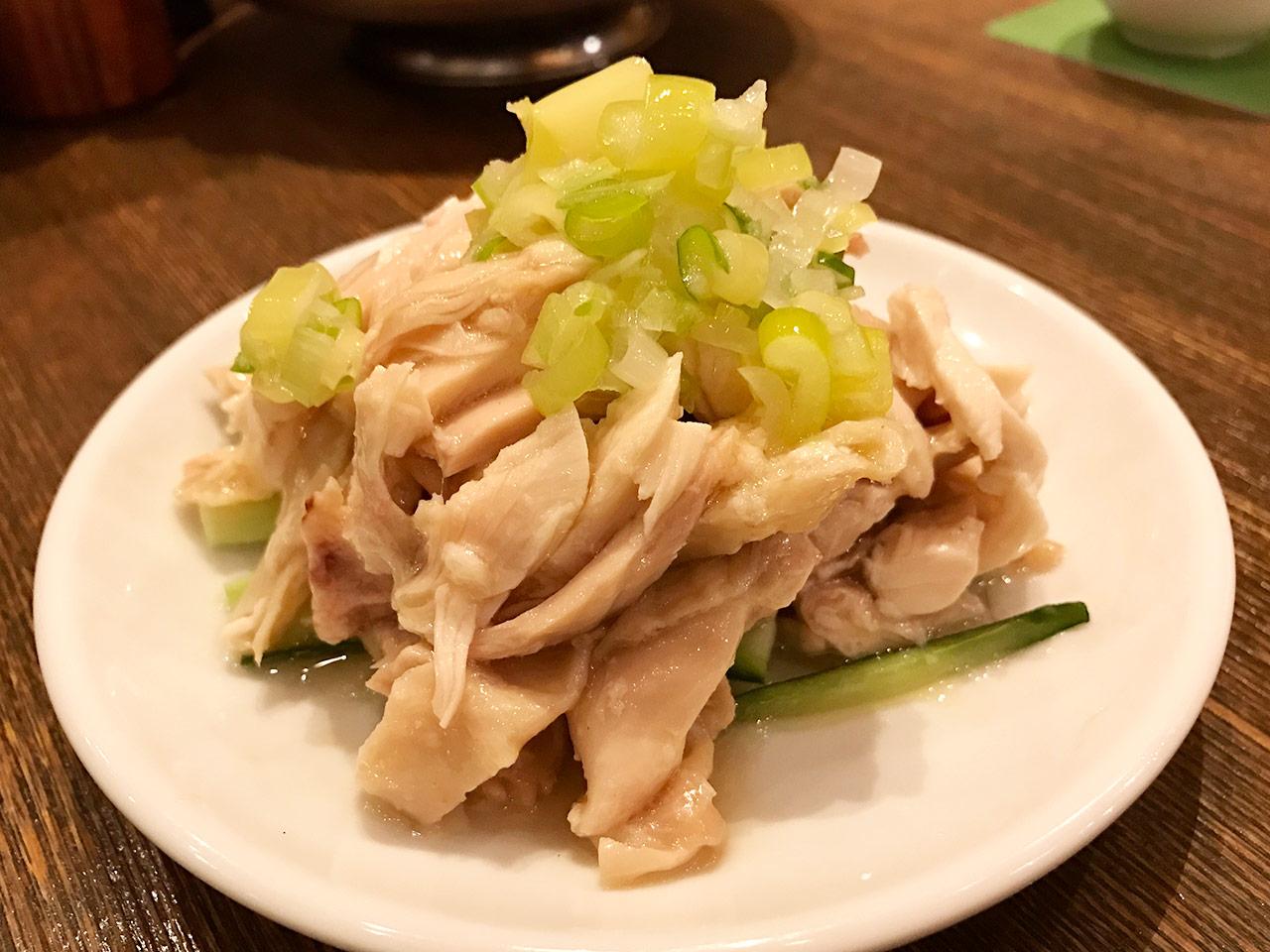 麻布十番「ダリアン」のよっぱらい鶏