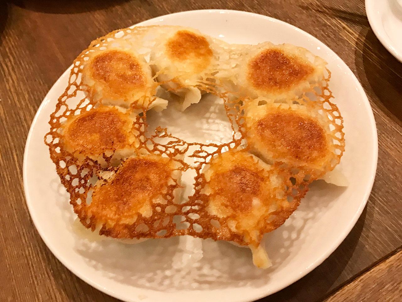 麻布十番「ダリアン」の大連焼き餃子