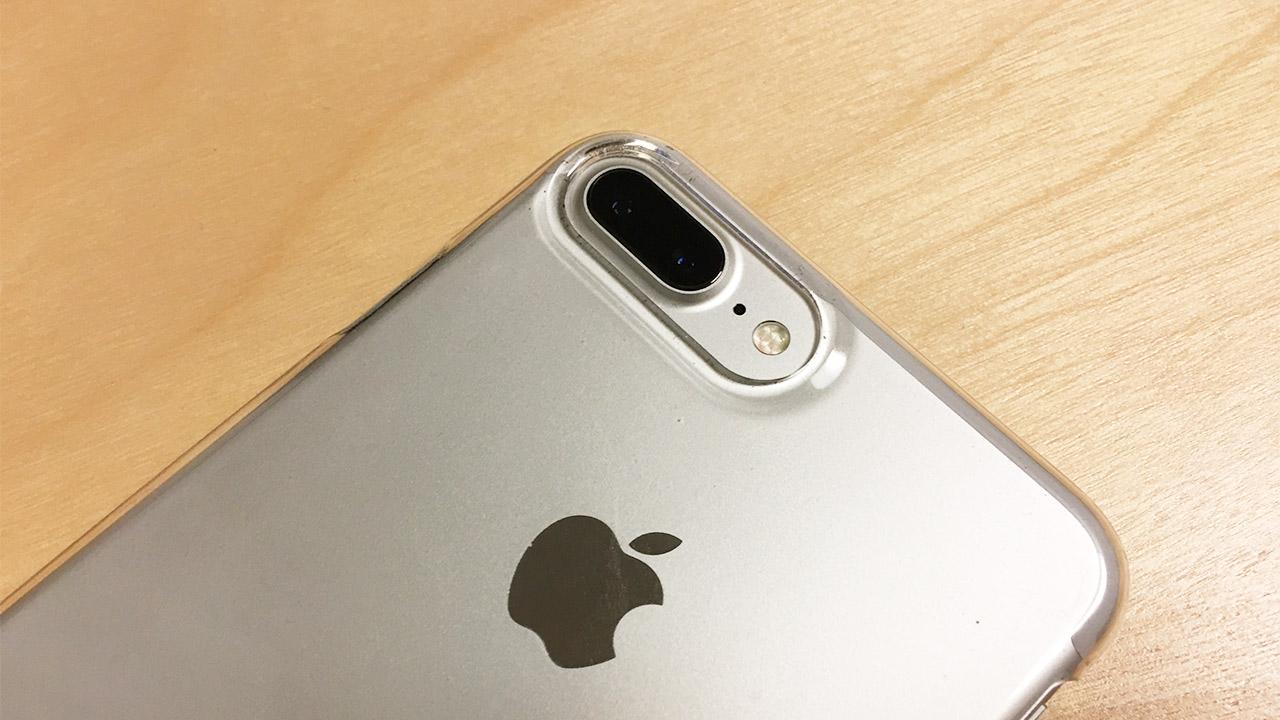 iPhone 7 Plusのデュアルレンズカメラ