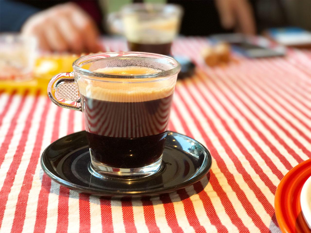 三軒茶屋「マルノワ」のコーヒー