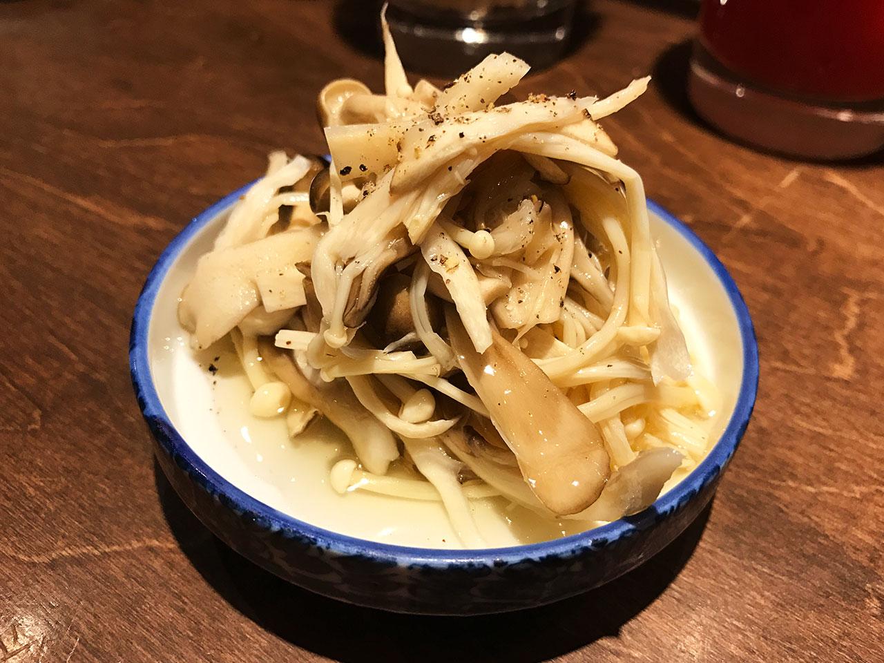 武蔵小山「豚星」のピクルス