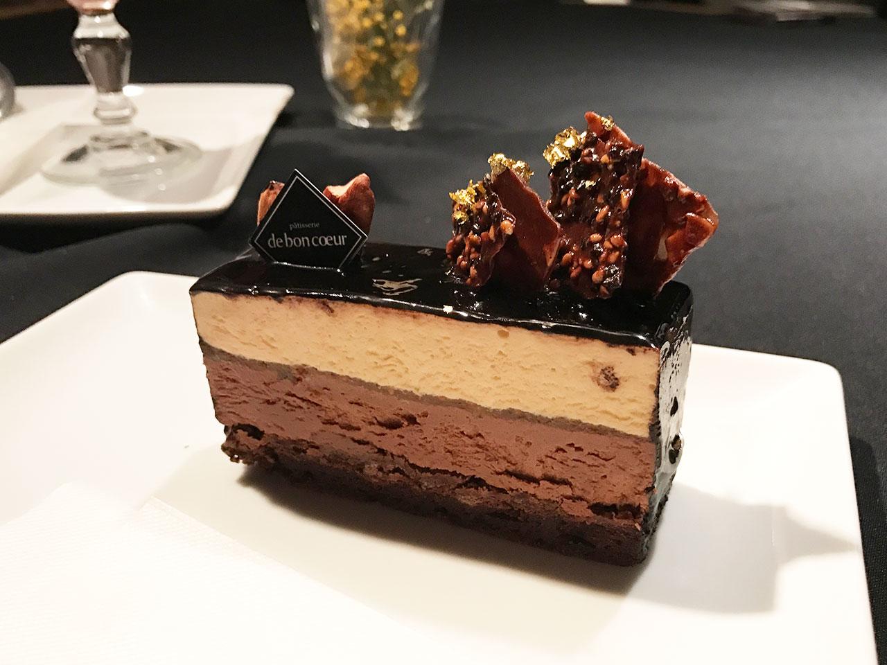 武蔵小山「ドゥボンクーフゥ」のショコラケーキ