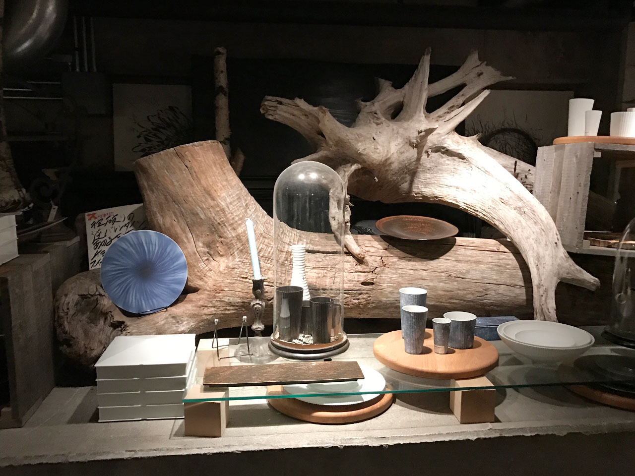 武蔵小山「ドゥボンクーフゥ」のオブジェ