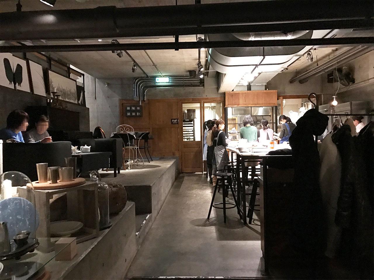 武蔵小山「ドゥボンクーフゥ」の店内