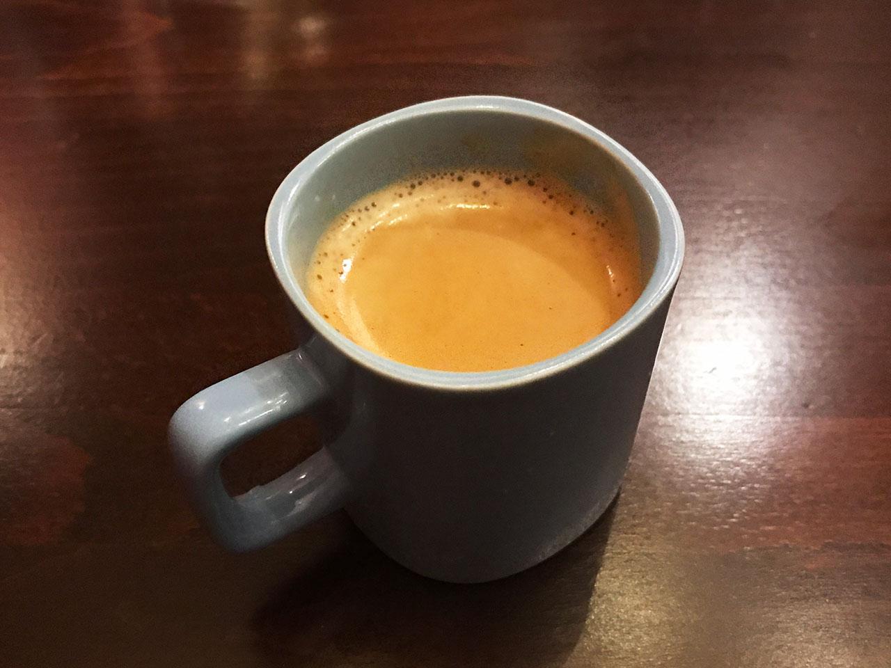 池尻大橋のイタリアン「Comodo Kitchen(コモドキッチン)」のコーヒー