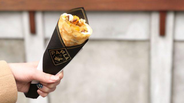 銀座「PARLA(パーラ)」のクレープが上品すぎてやばい!他では食べられない大人なクレープ!