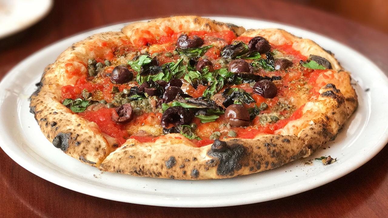 不動前のピザ屋「ベントエマーレ」