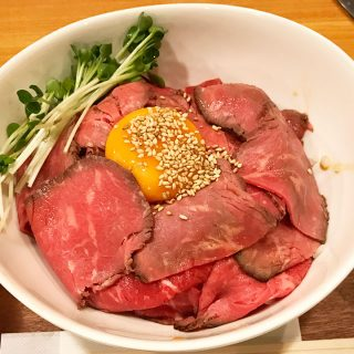 武蔵小山「元山」の土日限定ローストビーフ丼ランチがコスパ良くてうまくて最高!