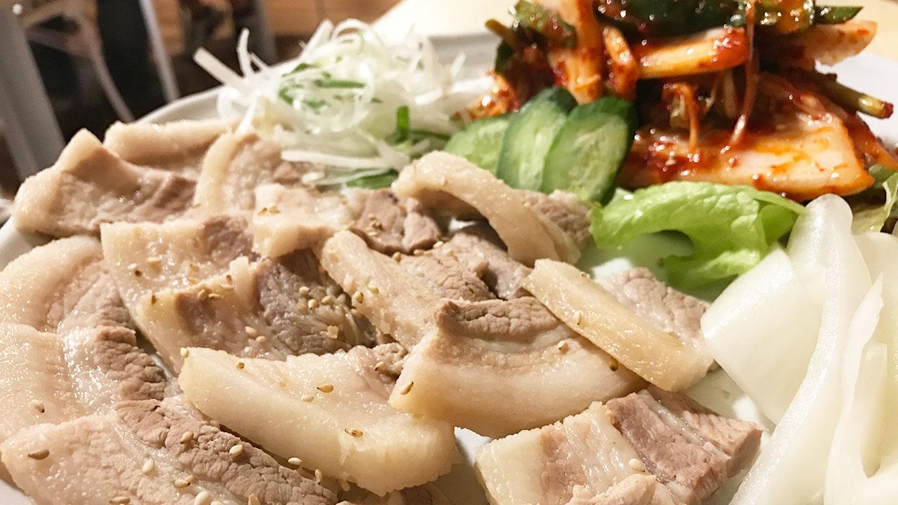 武蔵小山「釜山広場」で韓国料理を堪能!ボッサムがうまかった!