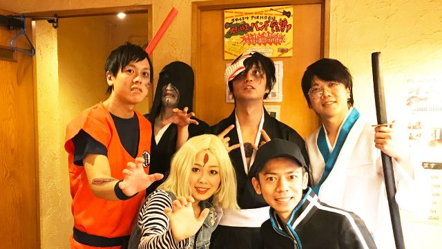 2017年10月31日西川口ハーツにてアマオトのライブ!ハロウィン仕様でした!