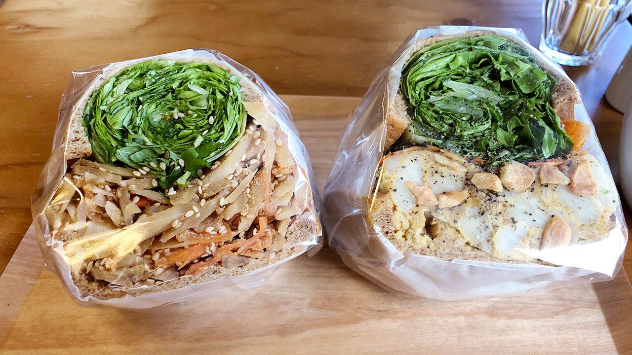 渋谷のサンドウィッチ屋「POTASTA」の具材がたっぷり入ったヘルシーなサンドウィッチが最高
