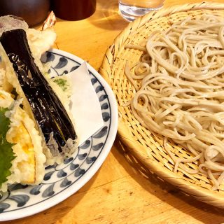 武蔵小山「手打蕎麦ちりん」の天せいろがランチだとお得に食べられる!