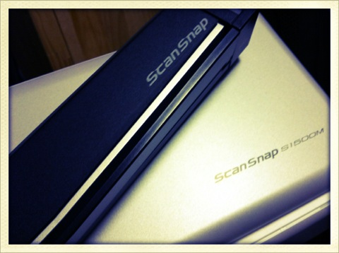 ScanSnap S1100とS1500の使い分け方