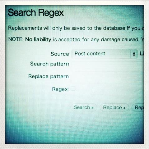AppHTMLの画像リンクをSearch Regexを使って修正した
