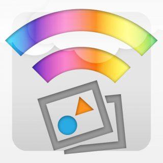 iPad 3rdだとiPhoneアプリ使ってもきれいに見えるのでPictShareが快適に使える!