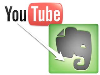 YouTubeの動画をEvernoteに簡単に入れる方法とそのメリット