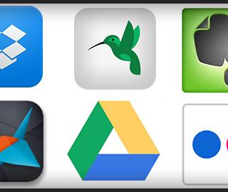 Dropbox,Evernote,Flickrなど、僕が使ってるクラウドサービスまとめ