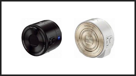 レンズだけのカメラ「DSC QX100 / QX10」が国内で10月25日に発売