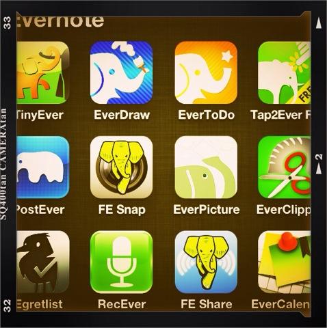 Evernote関連アプリを断捨離するので削除する前のまとめ
