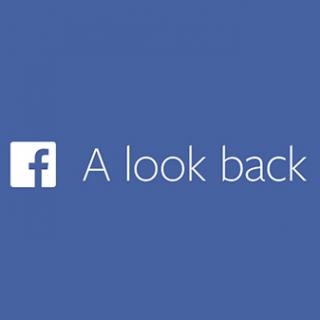 Facebookの「A look back」で自分の過去の投稿が動画化されるのでダウンロードしてみた