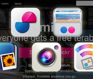 1TBまで無料になったFlickrをもっと便利に使うためのiPhoneアプリ4個
