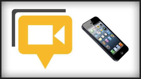 ハングアウトに招待された場合にiPhoneで参加する方法